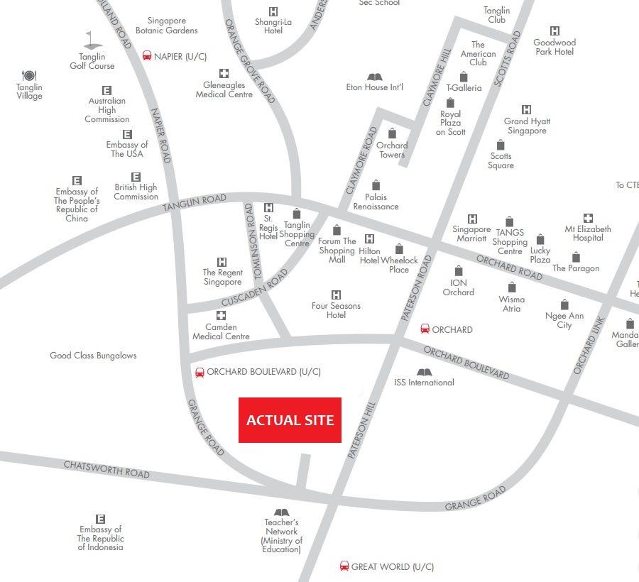grange-1866-condo-singapore-location-map