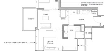 Grange-1866-condo-singapore-floor-plan-2-bedroom