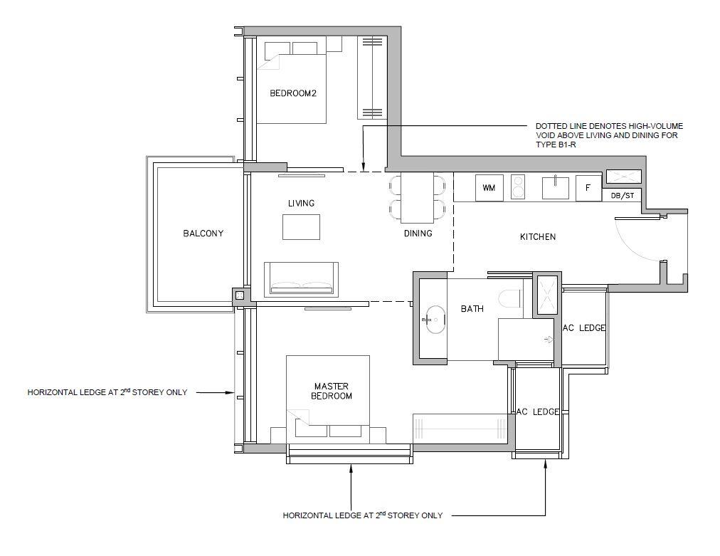 Grange-1866-condo-singapore-floor-plan-2-bedroom